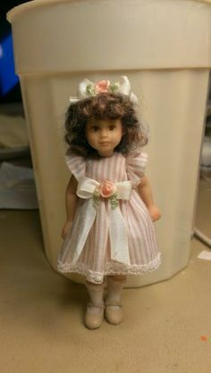 Miniature Doll Little Girl 3 1 2 Inches | eBay