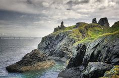 On a rocky promontory at the east side of Wicklow town stand the ruins of the Black Castle. The castle was completely destroyed by local chieftains in Black Castle, East Side, Abandoned, Ireland, To Go, World, Water, Places, Travel