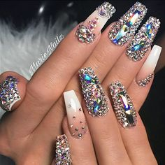"4,973 Likes, 20 Comments - NAIL INSPO (@theglitternail) on Instagram: "": Picture and Nail Design by •• @alextruong_nails •• Follow @alextruong_nails for more gorgeous…"""