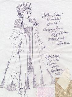 Costuming Crowns: A Sketchbook | Goodman Theatre