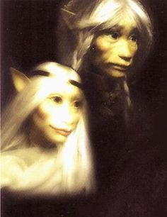 Power of the Dark Crystal (Unreleased) ... Old King Jen and Queen Kira! Can't wait to see this!!