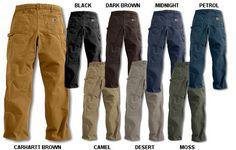 Pants Range for color palette