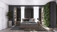 MASTER BEDROOM | BLACK OAK | MUSA STUDIO | Architecture and interior design. Tel: (+373)60-10-20-30 | www.musa.md