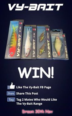 Head over to the Vy-Bait to enter this one folks. #outdoors, #campinggear, #fishinggear, #ClimbingGear