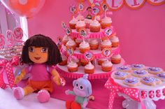 Pirates & Princesses: Dora the Explorer & Boots 3rd Birthday Party