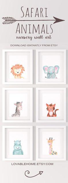 So perfect for a safari nursery!