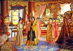 Chinese Culture, Chinese Art, Film China, Wu Zetian, The Empress Of China, Fan Bingbing, Royal Life, Oriental Fashion, Chinese Actress