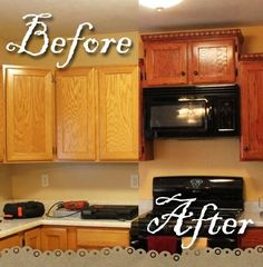 DIY Kitchen Remodel (Instructions and Photos) great blog - tons of tips!