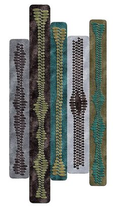This is a rug. Yes, just one. By Patricia Urquiola.
