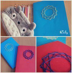 Zeszyt z wyszywanką / Embroidered Notebook DIY