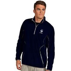UConn Huskies Antigua Ice Quarter-Zip Jacket - Navy
