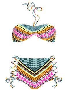 Mara Hoffman printed bikini, $295