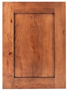 Shaker style cabinet - Clearcreek Knotty Cherry / Natural / Brown Glaze