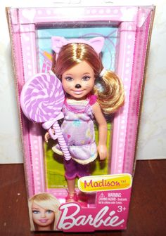 Barbie Chelsea and Friends Madison Doll NEW! #Mattel #DollswithClothingAccessories