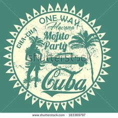Havana Cuba Vector Art - 183369797 : Shutterstock