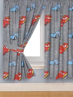 Top 10 Curtain Designs For Children's Room Disney Cars Room, Disney Rooms, Boys Curtains, Nursery Curtains, Bonus Room Playroom, Playroom Ideas, Nursery Ideas, Boys Bedroom Decor, Childrens Bedroom