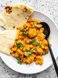 and Chickpea Masala This super easy, ultra creamy, and heavily spiced Cauliflower and Chickpea Masala will be your new favorite weeknight dinner! So much flavor, so little effort. Effort Effort may refer to: Chickpea Recipes, Veggie Recipes, Vegetarian Recipes, Dinner Recipes, Cooking Recipes, Healthy Recipes, Vegan Meals, Dinner Ideas, Tilapia Recipes