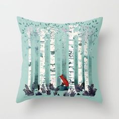 Squirrel 20 Outdoor Pillow from Crate