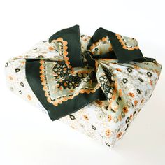 Flower print Furoshiki reusable gift wrapping by thelilwrapcompany, £8.50