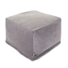 $85 The Plush Large Ottoman is a beautiful addition to your living room, dining room or family room. The filling is eco-friendly and comfortable to sit on. The size also works as a table, pouf, or footstoo...  Find the Plush Ottoman, as seen in the Ottomans Collection at http://dotandbo.com/category/furniture/benches-and-ottomans/ottomans?utm_source=pinterest&utm_medium=organic&db_sku=93918