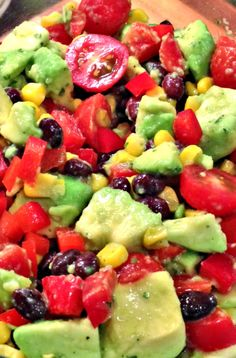 Simple Southwestern-Style Salad