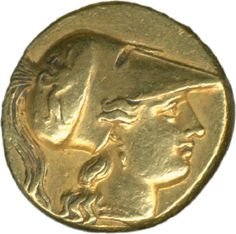 Greece: Siracusa, Agathokles 304 / 289 BC, gold 5.5 g, Athena head / winged flash, extremly fine    Dealer  Schwanke GmbH    Auction  Minimum Bid:  800.00 EUR