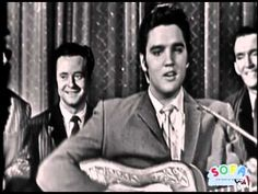 "October 28, 1956 : ""Elvis Presley makes his second appearance on CBS-TV's Ed Sullivan Show, and unlike the first appearance, Sullivan himself is hosting. Elvis sings Don't Be Cruel, Love Me Tender, Hound Dog and ""Love Me,"" and Ed presents Presley with a gold record for Love Me Tender."" (http://calendar.songfacts.com/)"