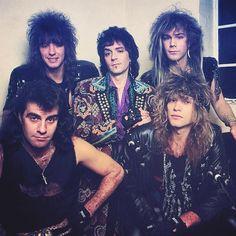 Bon Jovi #80s #80smusic #80srock #80smetal @rock.n.roll.vagabond | Instagram