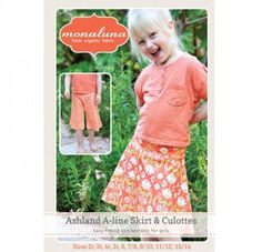 monaluna | Girls Ashland Skirt & Culottes (Print)