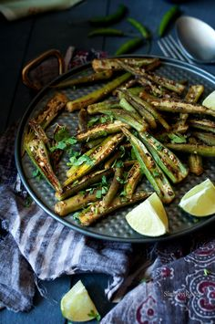 Spiced Okra  Delicious Pan Fried Okra with Spices