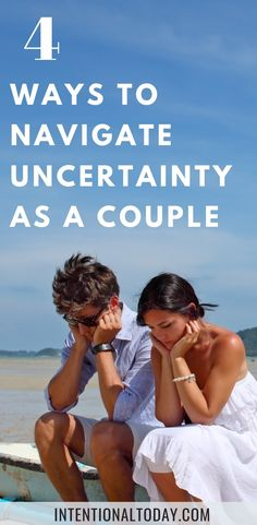 How do we stay connected and hopeful, when the world around us is seemingly falling apart? It's a blessing to have someone in your corner, but what about those moments it's hard to fight for one another because we are feeling stressed and anxious? Here's 4 ways to navigate through a season of uncertainty (plus a prayer to pray over your marriage!) #marriageadvice #newlywedadvice #marriage #intentionaltoday #marriageissues #troubleinparadise