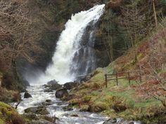 Grey Mare's Tail at Talnotry.