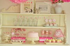 candy table rosa