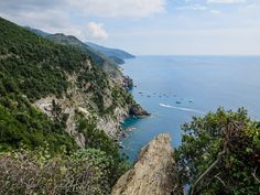 Looking back towards Vernazza on the way to Monterosso