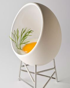 Egg cup as objet? Mais oui.  Maison et Objet Fall 2012: For the Home - Novel offerings from the Parisian design trade show