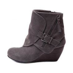 Fall fashion 2014 These Blowfish bootie - Bilocate is a soft faux suede and leather finish. It has a fun fold over cuff with an outside zipper and buckle embellishment. Tootsies Shoes Barrington, IL 60010 @icehousemall