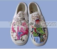 Hand Drawing Custom Canvas Universal Shoes Custom-032, New Arrival Hand Drawing Shoes, Cosplay Hand Drawing Shoes