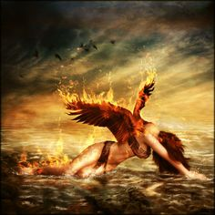 Just as the Phoenix rises from the ashes, so will love in the face of hardships.