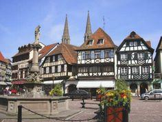 Obernai, Alsace, France.  4 miles from Saint-Nabor.