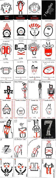 7 familles typo - BTS design graphique                                                                                                                                                      Plus