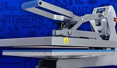 Hotronix® Hover Press™ This #HeatPress has all of the features of the Auto Open Clam with one unique difference: the upper platen hovers over the garment to ensure brighter colors and a stronger bond between DTG ink and the garment.