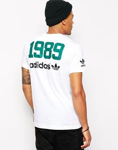 Discover men's t-shirts and vests at ASOS. Shop from plain, printed and long sleeve t-shirts and vests to longline and oversized styles with ASOS. Sport Outfits, Boy Outfits, Fashion Wear, Mens Fashion, Creative T Shirt Design, T Shirt Vest, Long Tops, Swagg, Adidas Men