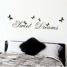 Cheap stickers home decor, Buy Quality sweet dreams directly from China wall stickers home decor Suppliers: hot sell sweet dream quotes wall stickers home decorations living bedroom diy decals mural arts printing poster paper Wall Stickers Quotes, Wall Stickers Home Decor, Wall Stickers Murals, Wall Quotes, Wall Decals, Chalkboard Stickers, Sweet Dream Quotes, Floor Stickers, Pvc Wall