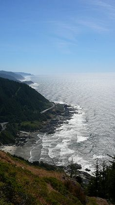 View from Cape Perpetua, OR