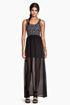 Długa sukienka | H&M