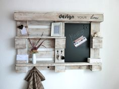 Vintage Memo- made with pallet
