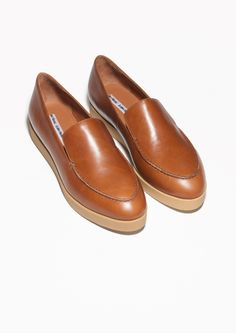 & Other Stories | Flatform Leather Loafers