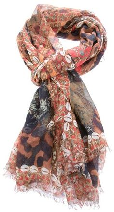 Alexander McQueen .... Print scarf ... I want this.