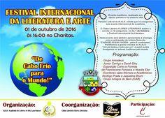 """BLOG ÁLVARO NEVES """"O ETERNO APRENDIZ"""" : FESTIVAL INTERNACIONAL DA LITERATURA E ARTE, VOCÊ ..."""