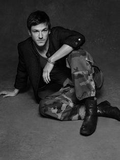 GASPARD ULLIEL in The Little Black Jacket by Karl Lagerfeld. Chanel